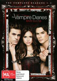 The Vampire Diaries - Seasons 1-3 DVD image