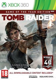 Tomb Raider Game Of The Year Edition for X360