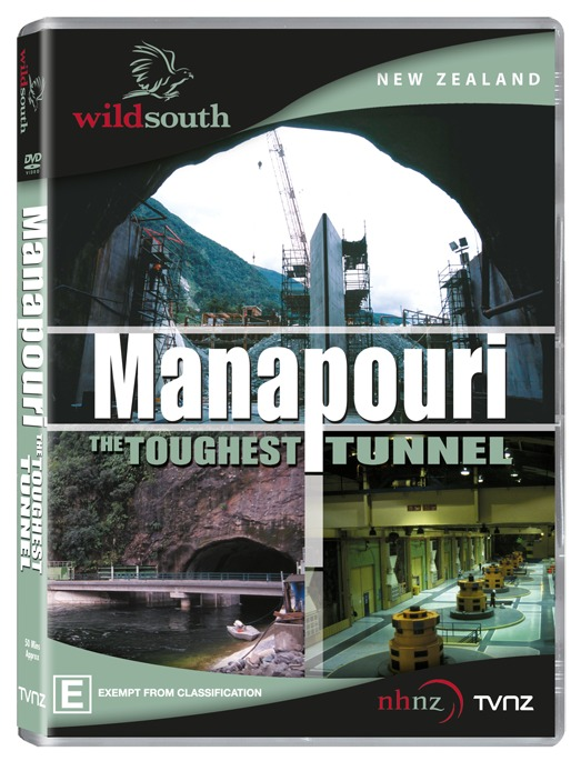 Manapouri: The Toughest Tunnel on DVD image