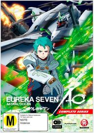 Eureka Seven Ao - The Complete Series on DVD