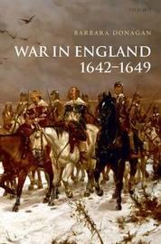 War in England 1642-1649 by Barbara Donagan image