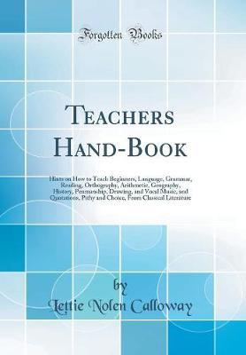 Teachers Hand-Book by Lettie Nolen Calloway image