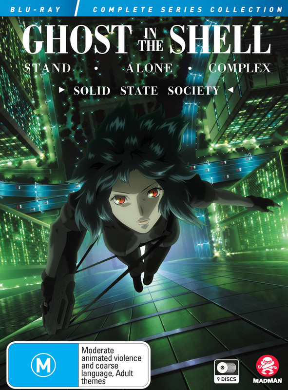 Ghost In The Shell: Stand Alone Complex - Complete Series + Solid State Society Collection (blu-ray) on Blu-ray