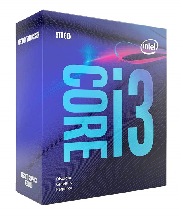 Intel Coffee Lake Core i3 9100F 4-Core CPU