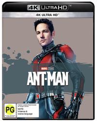 Ant-Man (4K UHD) on UHD Blu-ray