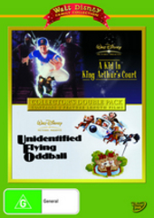 Kid In King Arthur's Court, A (1995) / Unidentified Flying Oddball (1979) - Collector's Double Pack (2 Disc Set) on DVD
