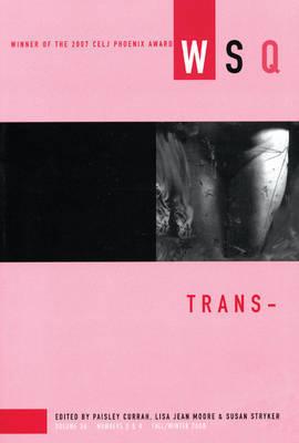 Trans: Volume 36, number 3 & 4