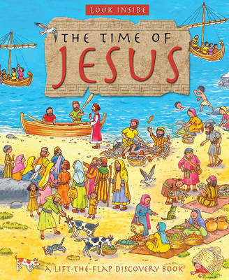 Look Inside the Time of Jesus by Lois Rock image