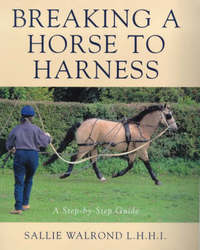 Breaking a Horse to Harness by Sallie Walrond image