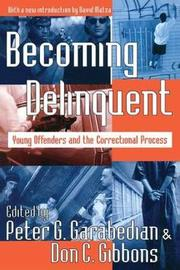 Becoming Delinquent by Peter G. Garabedian