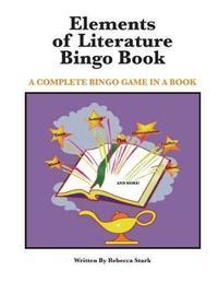 Elements of Literature Bingo Book by Rebecca Stark image