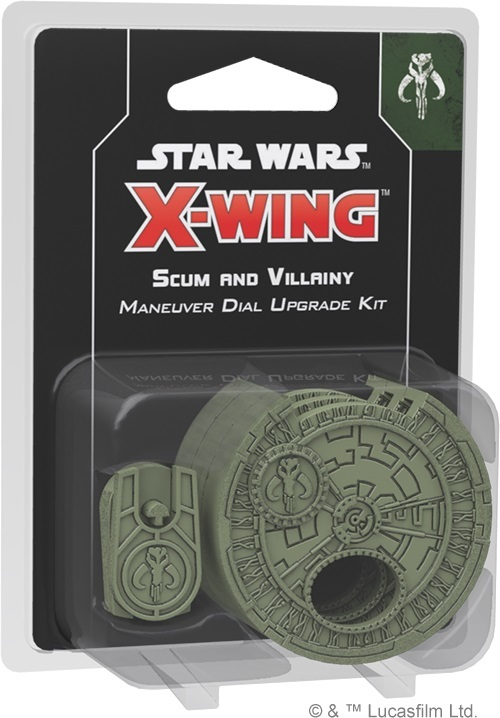 Star Wars X-Wing Scum and Villainy Maneuver Dial Upgrade Kit