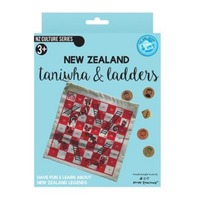 NZ Gift: Taniwha & Ladder - Board Game