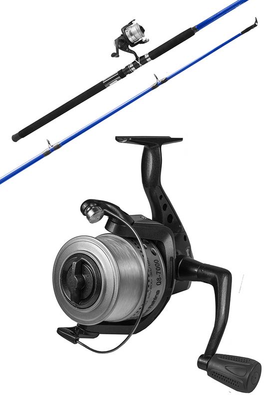 Fishtech Surf Fishing Rod & Reel Combo Set (12ft) 2pce