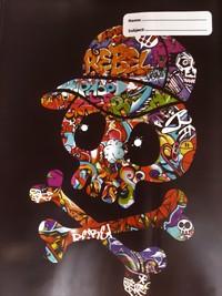 Spencil: A4 Book Cover - Rebel