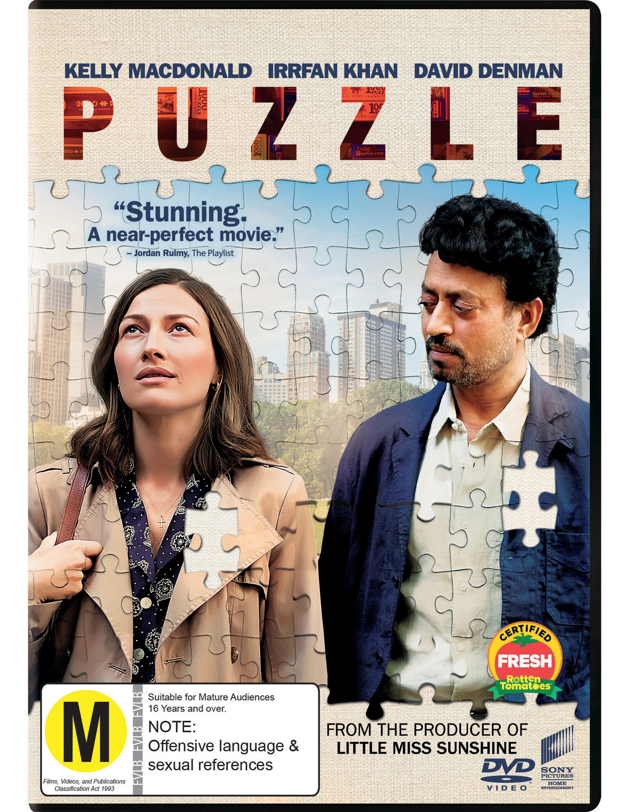 Puzzle on DVD image