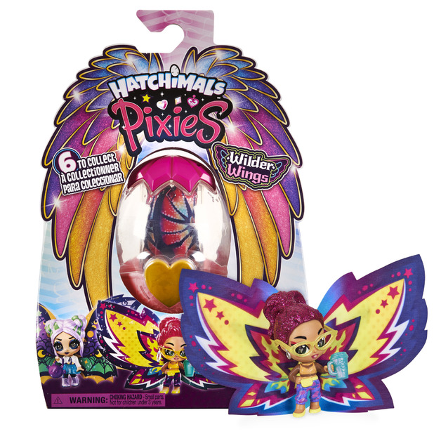 Hatchimals: Pixies Wilder Wings - Mystery Doll (Assorted Designs)