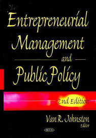 Entrepreneurial Management & Public Policy image