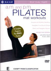 A.M and P.M Pilates Mat Workouts on DVD