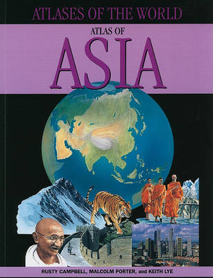 Atlas of Asia by Rusty Campbell image