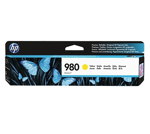 HP 980 Yellow Ink Cartridge D8J09A