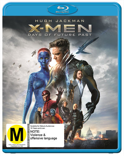 X-Men: Days of Future Past on Blu-ray