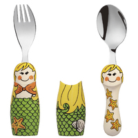 Eat4Fun Duos Cutlery Set (Mermaid)