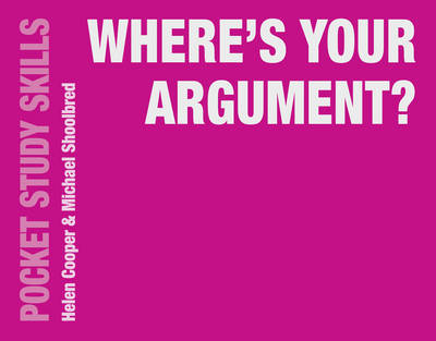 Where's Your Argument? by Michael Shoolbred image
