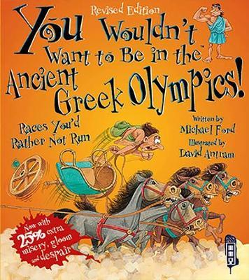 You Wouldn't Want To Be In The Ancient Greek Olympics! by Michael Ford image