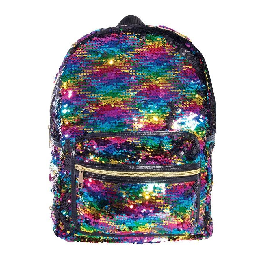 23196c18ea9 Reversible Sequin Backpack - Rainbow image ...