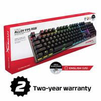 HyperX Alloy FPS RGB Mechanical Gaming Keyboard for PC image