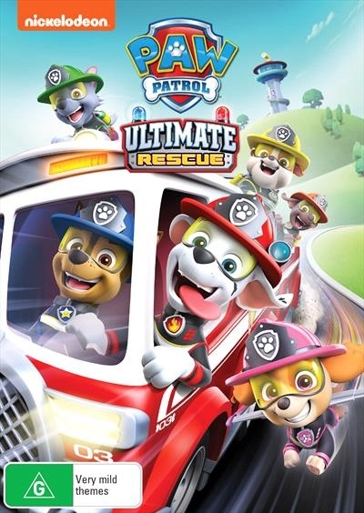 Paw Patrol: Ultimate Rescues on DVD image