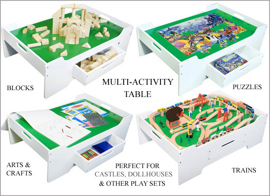 Multi Activity Table Melissa Doug Toy At Mighty Ape Nz
