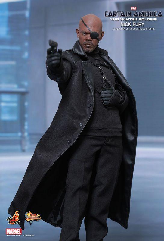 Captain America 2 - Nick Fury 1:6 Scale Collectible Figure