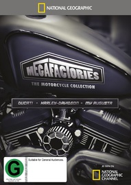 National Geographic: Megafactories - The Motorcycle Collection on DVD