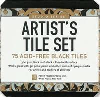 Artist's Tile Set: Black: 75 Acid-Free Black Tiles (Studio Series)