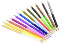 Miss Madeline Double Tip Colouring Pencils (12 Pack) image