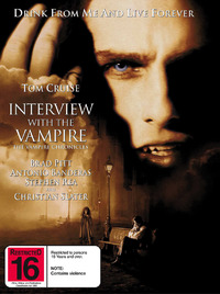 Interview with the Vampire:   Special Edition on DVD image