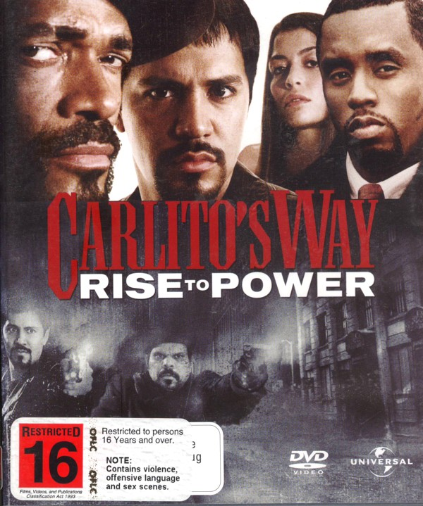 Carlito's Way: Rise To Power on DVD image