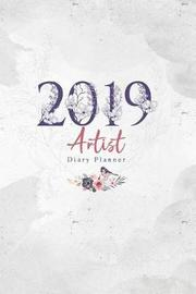 2019 Artist Diary Planner by Elizabeth Riley