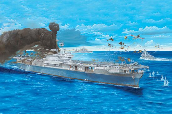 Trumpeter: USS Yorktown - 1/200 Scale Model Kit