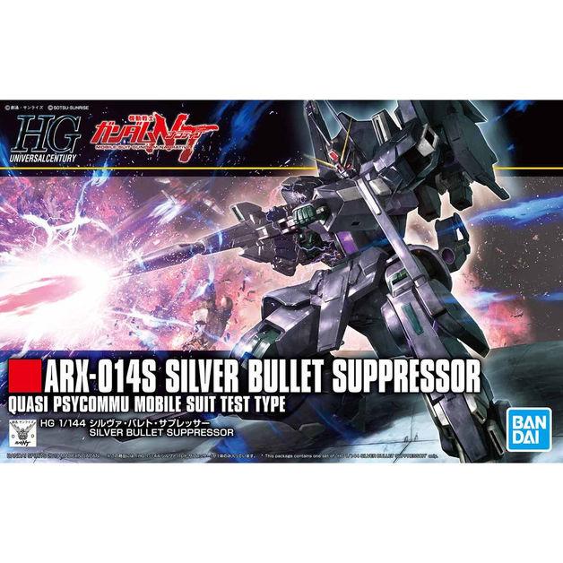 HGUC 1/144 Silver Bullet Suppressor - Model Kit