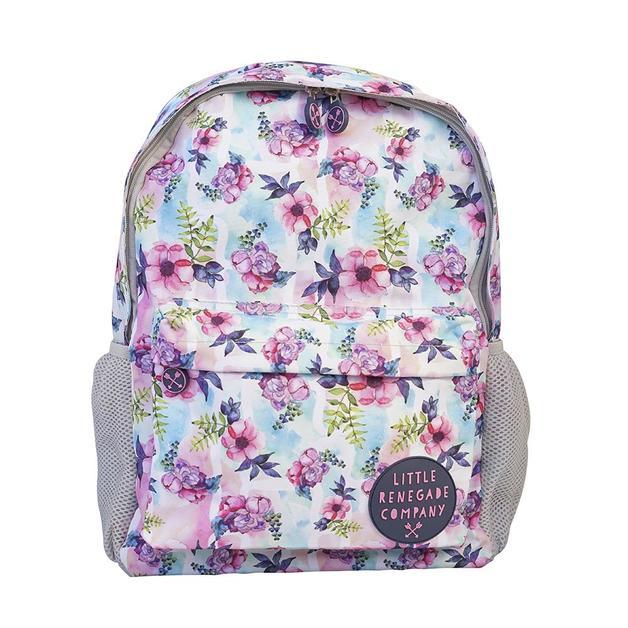 Little Renegade Company: Pastel Posies Midi Backpack