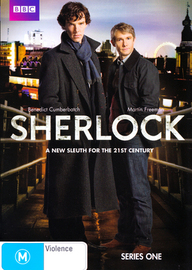 Sherlock - Series 1 (2 Disc Set) on DVD