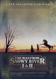 The Man From Snowy River 1 & 2 (Box Set) on DVD image