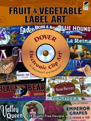 Fruit and Vegetable Label Art by Carol Belanger Grafton