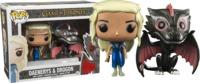 Game of Thrones - Drogon & Daenerys (Metallic) Pop! Vinyl Figure