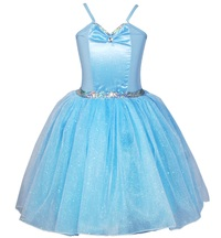 Pink Poppy: Snowflake Princess Dress 7/8 - Blue