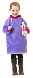 EC Colours - Toddlers Smock - Purple