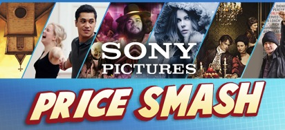 Sony Pictures September Specials - Up to 60% off!